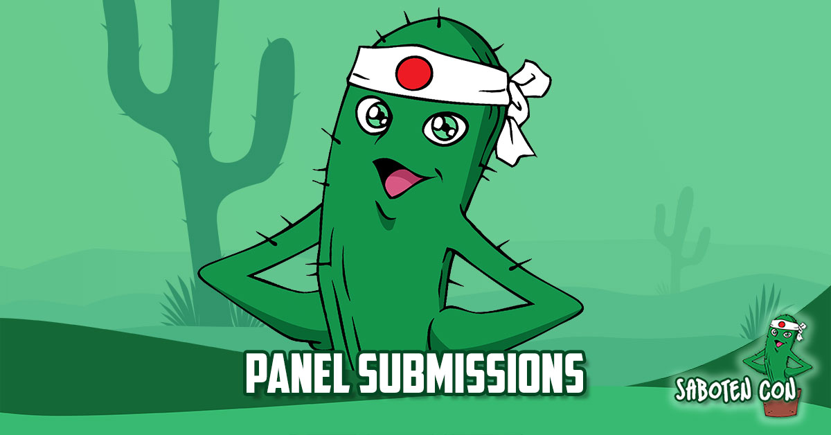 Saboten Con - Panel Submissions are open!